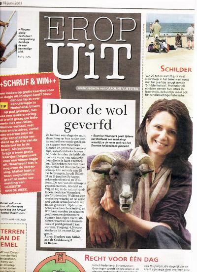 De Telegraaf - 18 June 2011