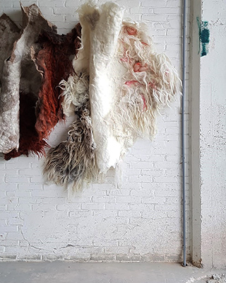 The Soft World | Felt art & design | Art & architecture | Happy Sheep at Object art & design fair as part of Rotterdam Art Week 2020