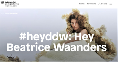 Blog Dutch Design Week, January 2020