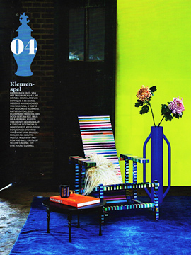 Eigen Huis & Interieur (carpets and cushion), Dutch magazine, December 2015