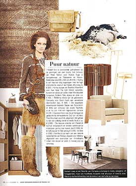 Eigen Huis & Interieur, Dutch magazine, November 2010