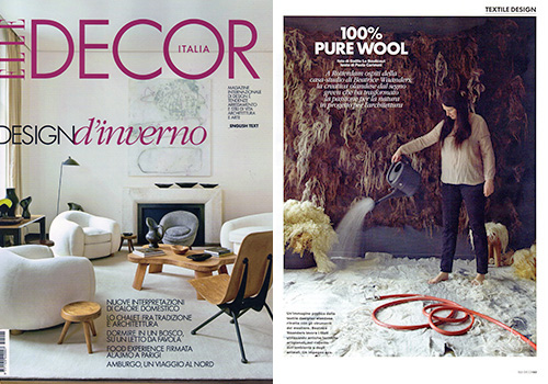 Elle Decor Italy Italian Magazine December 2014