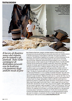 Elle Decor Italy, Italian magazine, December 2014