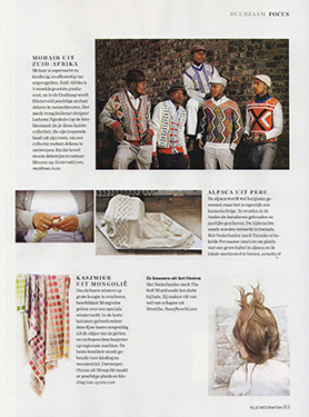 Elle Decoration, The Netherlands, October 2015