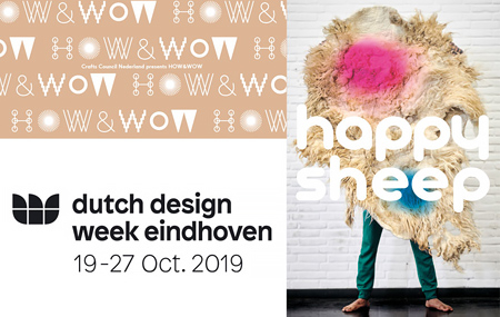 HOW & WOW for Crafts Council Netherlands, Dutch Design Week, Eindhoven, October 2019