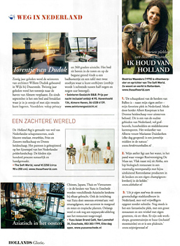 Hollands Glorie, Dutch magazine, January 2018