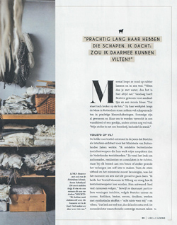 Libelle Living, Dutch magazine, October 2017