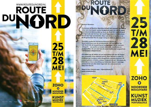 Route du Nord 2017, Art & Performance festival, Rotterdam