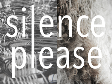 Silence Please. A co-production with Marianne Kemp (Horsehair Weaving), Object Art & Design fair, 2018