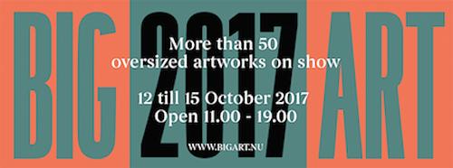 BIG ART, October 2017