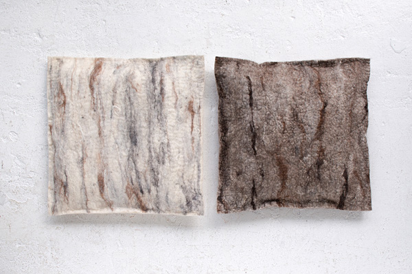 The Soft World, XL cushions, Marble-1