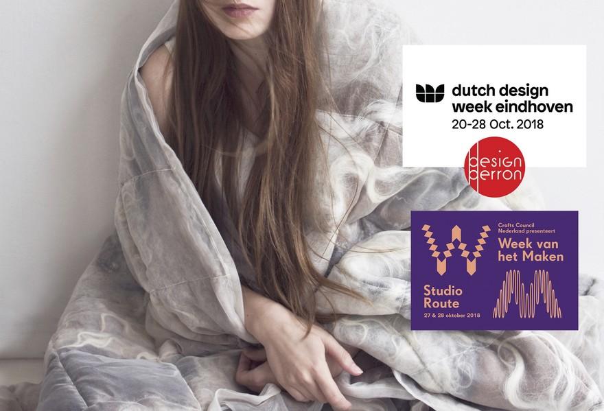 The Soft World | Beatrice Waanders | Felt art & design | Dutch Design Week
