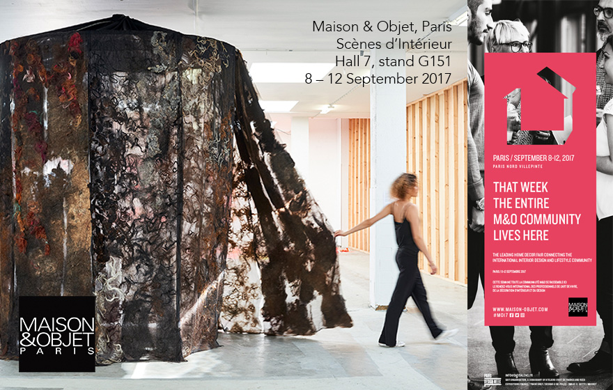 The Soft World - Beatrice Waanders Home Couture, Maison & Object, Paris, 8 – 12 September 2017