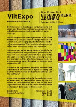 Lecture by Beatrice Waanders, Vilt Expo, Eusebiuskerk, Arnhem, 2015