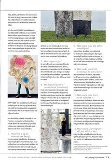 Vilt magazine from the Dutch Felt Association, Winter 2020/2021