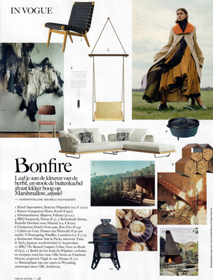 Vogue Living, fall edition 2020