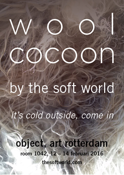 Object Rotterdam/ Rotterdam Art Week, The Netherlands, WOOLCOCOON, Room 1042, 12 – 14 February 2016